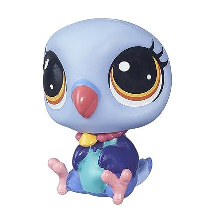 amazon com littlest pet shop duva pombo toys games