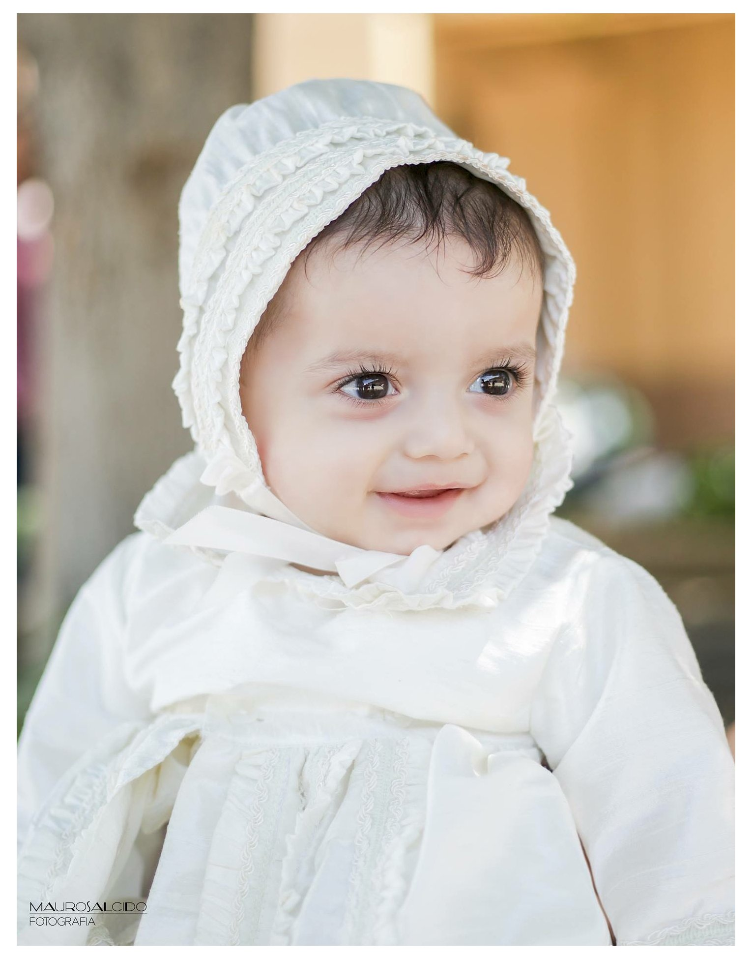 Heirloom Baby Boy's Christening Baptism Gown, Hand Made White Burbvus Ropones by Burbvus (Image #5)