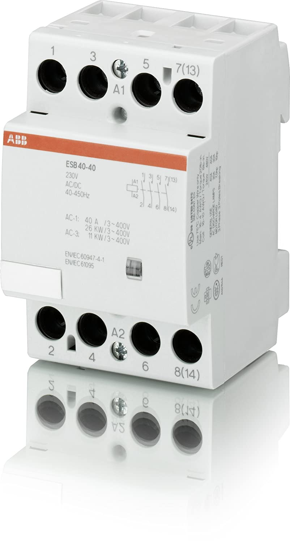ABB ESB40-40-230V Installationsschütz: Amazon.de: Baumarkt