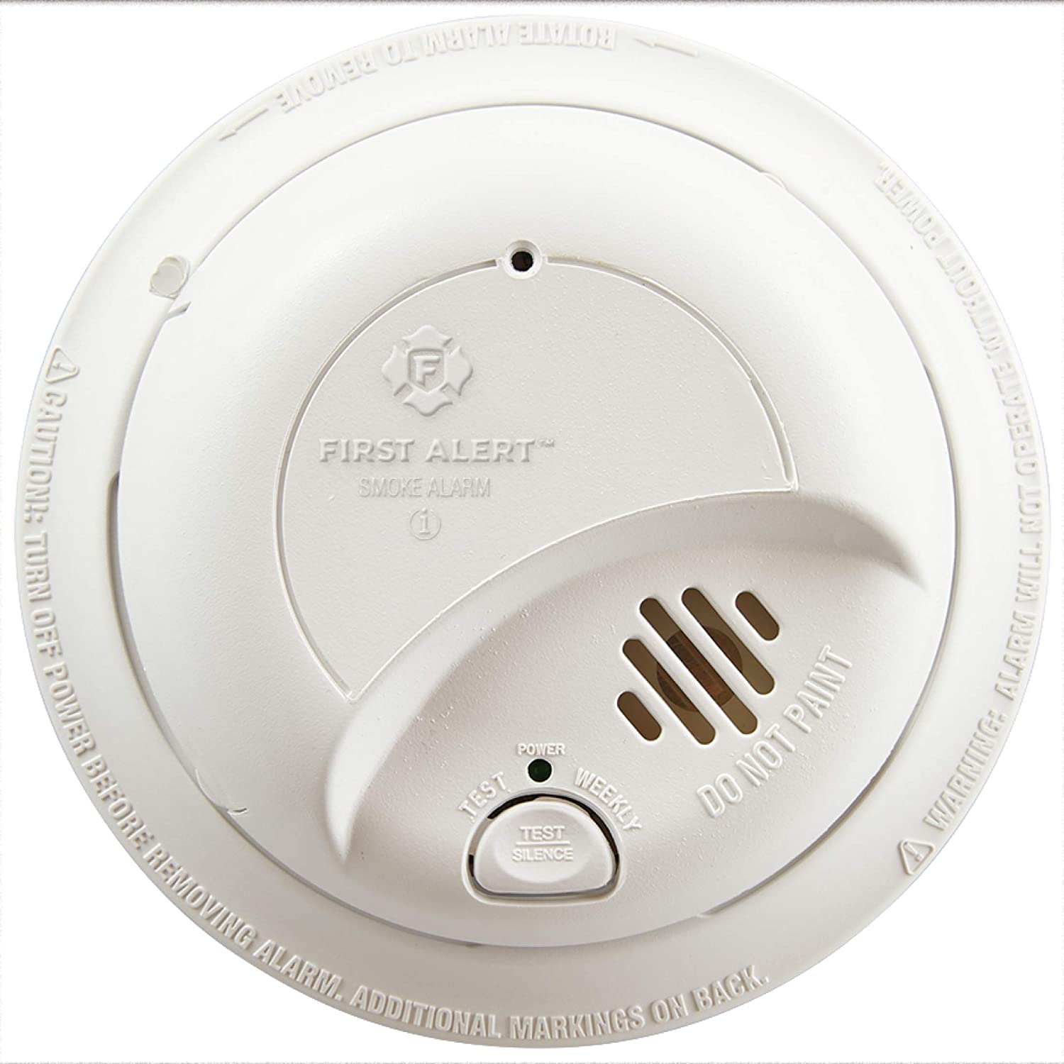 First Alert Brk9120b6cp Hardwired Smoke Detector With Backup Battery Amazon Com