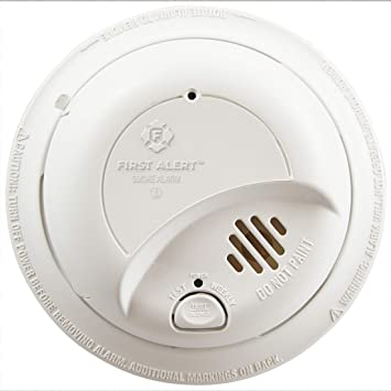 First Alert Brk9120b6cp Hardwired Smoke Detector With Backup