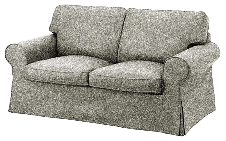 Custom Slipcover Replacement La Funda de Repuesto para sofá Cama Ektorp de Dos plazas IKEA Ektorp de 2 plazas, una Funda de Repuesto de Calidad para ...
