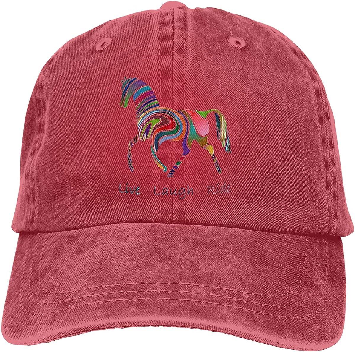 Rainbow Horse Gift Cowboy...