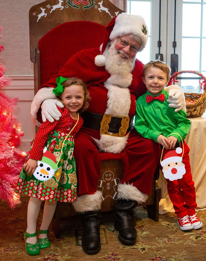 Xmas DIY Felt Gift Bags Holiday Class School Party Supplies Activity GTN Tech Christmas Craft Ornaments for Kids