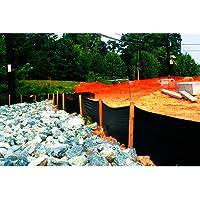 Tenax 31900500 Silt Fence, 2 by 100-Feet, 2' x 100', Black