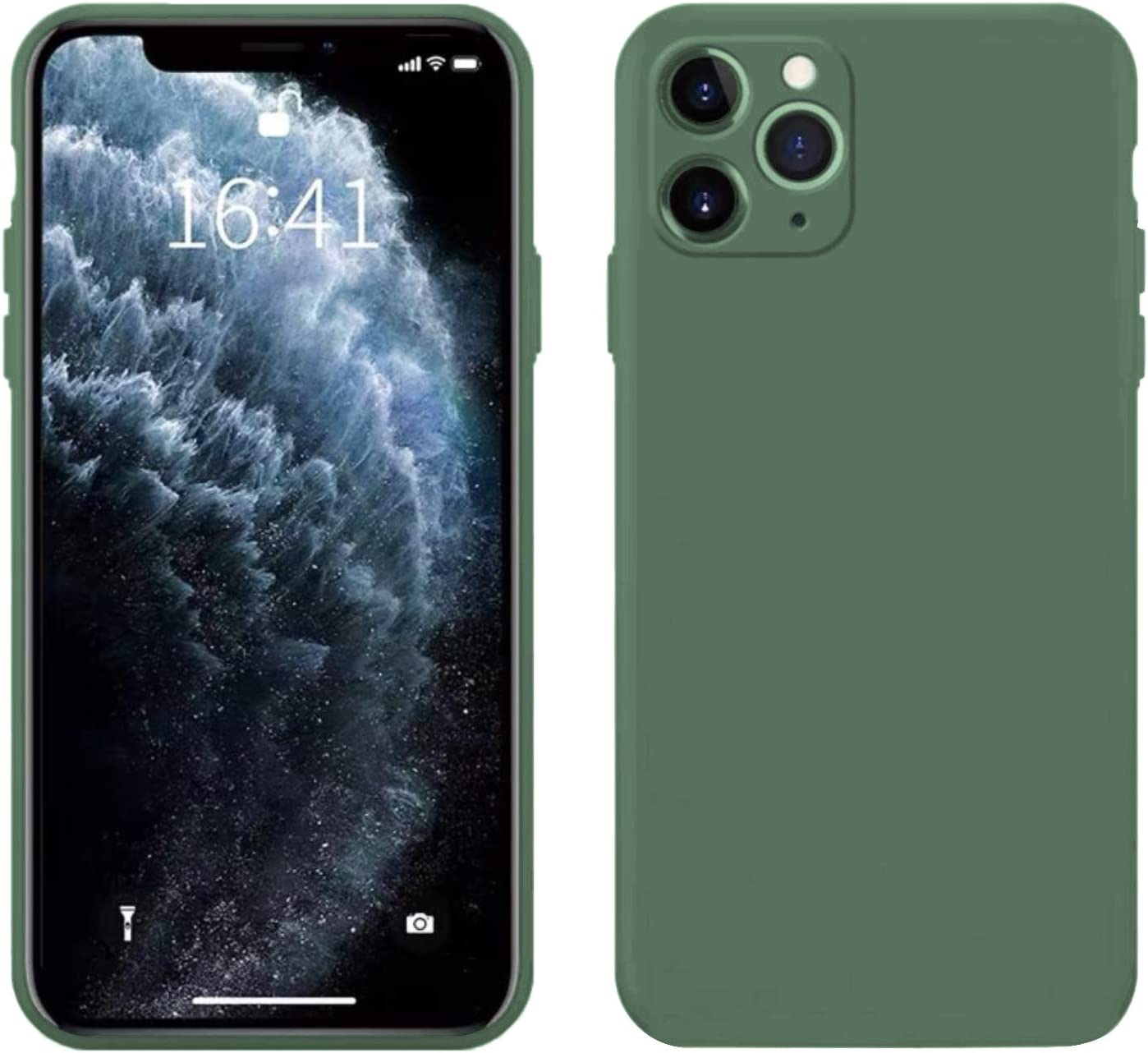 Iphone 11 Pro Max Hülle Ultra Dünne Flüssig Silikon Elektronik