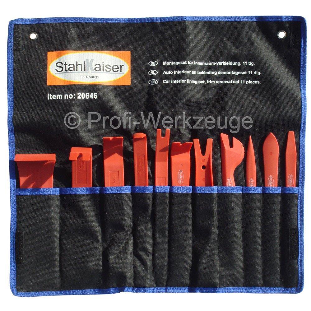 11-tlg. Zierleisten-Set Zierleisten Werkzeug Set Montage-Hebel ...