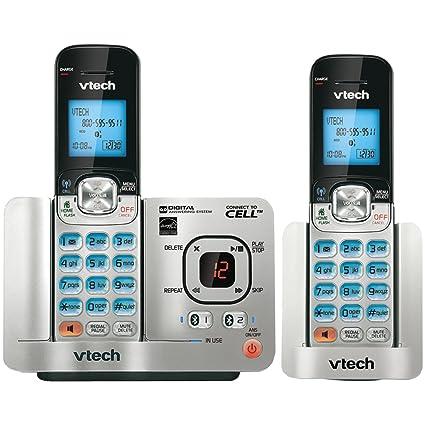 VTech DS6521-2 dect_6 0 2-Handset Landline Telephone
