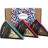 Gourmet Chocolate Pizza Slices Selection Gift Box - 3 Individual Slices - Hamper Exclusive To Burmont's