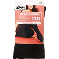 Razzamatazz Women's Pantyhose 120 Denier Full Figure Fit Opaque Tights