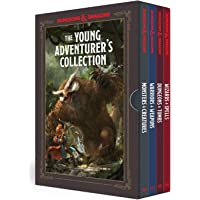 The Young Adventurer's Collection [Dungeons & Dragons 4-Book Boxed Set]: Monsters & Creatures, Warriors & Weapons…