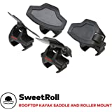 Yakima - SweetRoll Rooftop Mounted Boat Loader and Rack for Vehicles, Carries 1 Boat