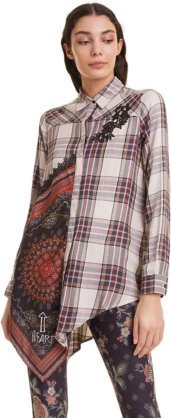 Desigual Shirt CAM Camisa para Mujer: Amazon.es: Ropa y accesorios