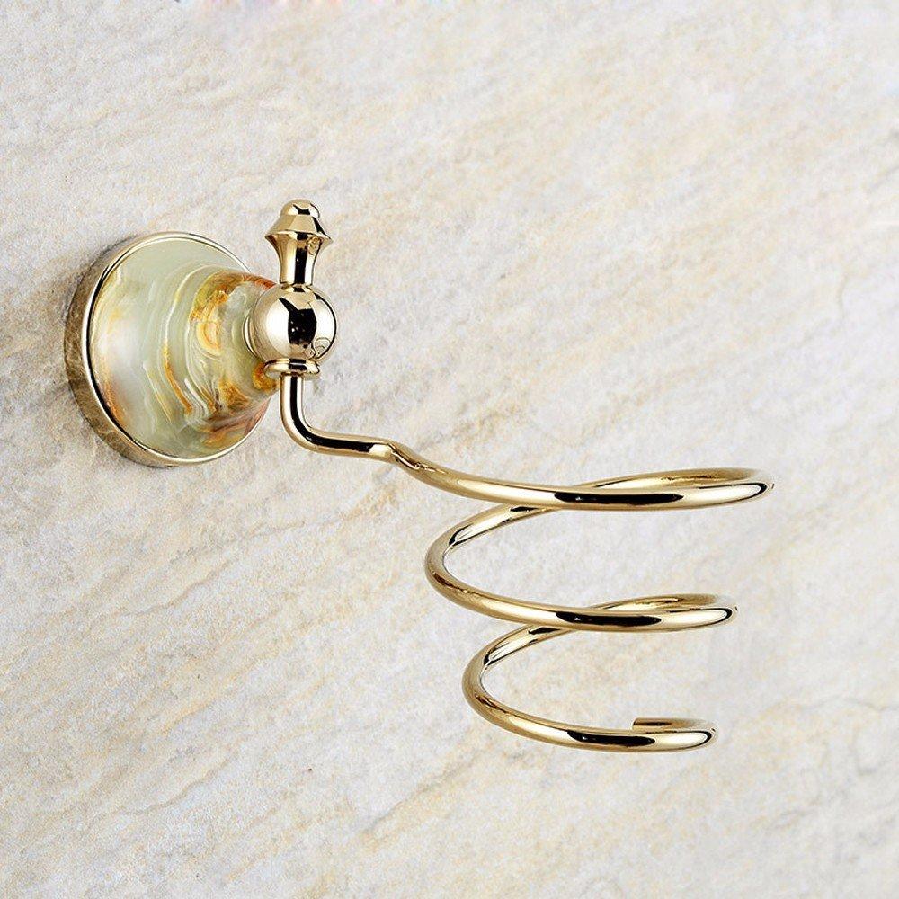 OLQMY-European Style All Copper Hair Dryer, Bathroom Luxury Hair Dryer