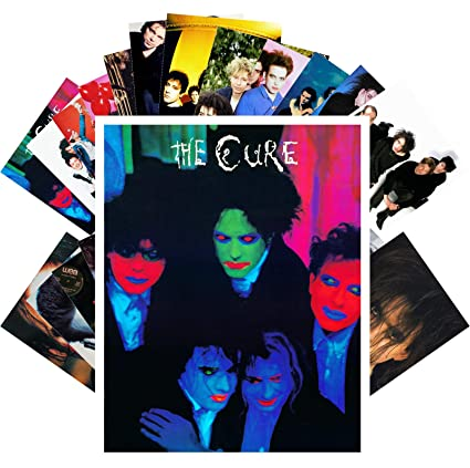 Amazon com: Postcard Set 24 cards THE CURE & ROBERT SMITH