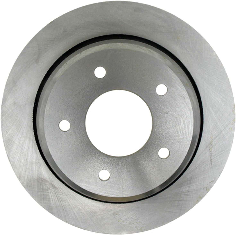ACDelco 18A656A Advantage Non-Coated Rear Disc Brake Rotor