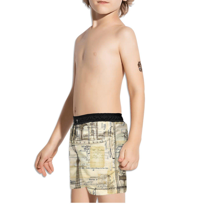Ouxioaz Boys Swim Trunk Treasured Wealth Books Beach Board Shorts