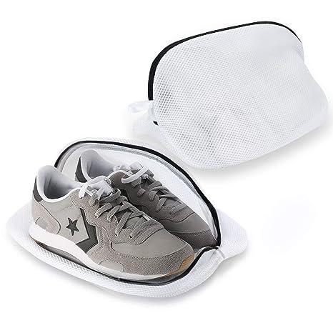 Zartk Paquete de 2 Bolsas de lavandería Premium para Zapatos ...