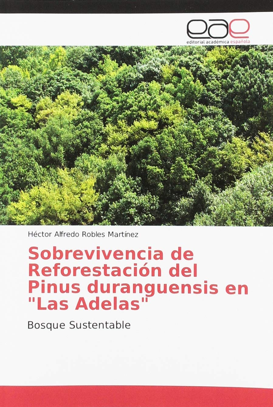 Sobrevivencia de Reforestación del Pinus duranguensis en