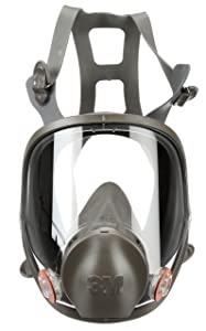 3M Full Facepiece Reusable Respirator 6900, Paint Vapors, Dust, Mold, Chemicals, Large