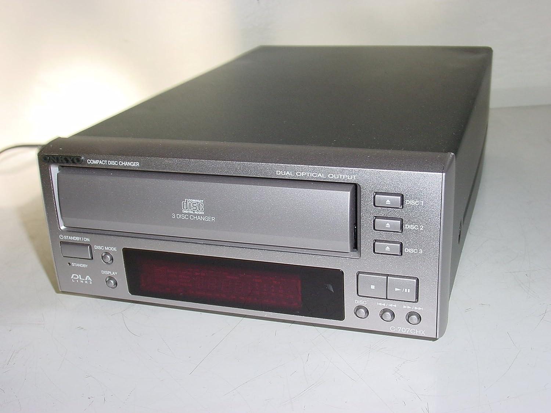 Amazon.com: Onkyo C-707CHX 3-CD Compact Disc Changer Player: Home Audio & Theater