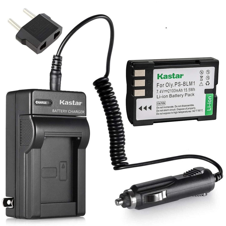 Amazon.com: Nueva batería + cargador para Olympus Camedia C ...