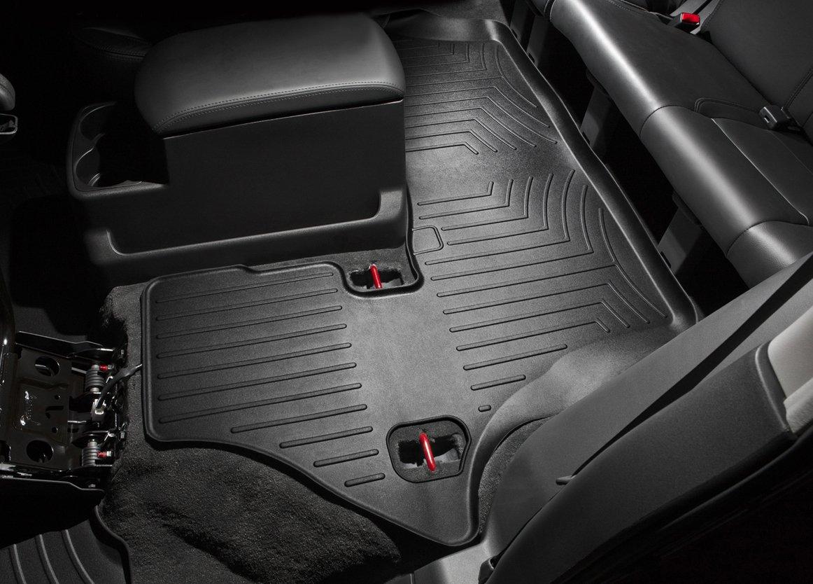 WeatherTech Custom Fit Front FloorLiner for Chevrolet Equinox//Pontiac Torrent Black 440231