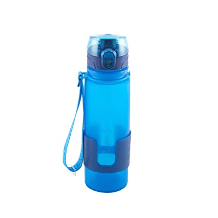 amazon com design for living 5141337 silicone water bottle with