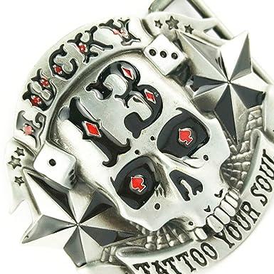 P Prettyia Boucle De Ceinture De Crâne En Argent 13 étoiles Nouveauté  Accessoires Gothique Rock Cool Biker  Amazon.fr  Vêtements et accessoires 1b55e1cfc3a