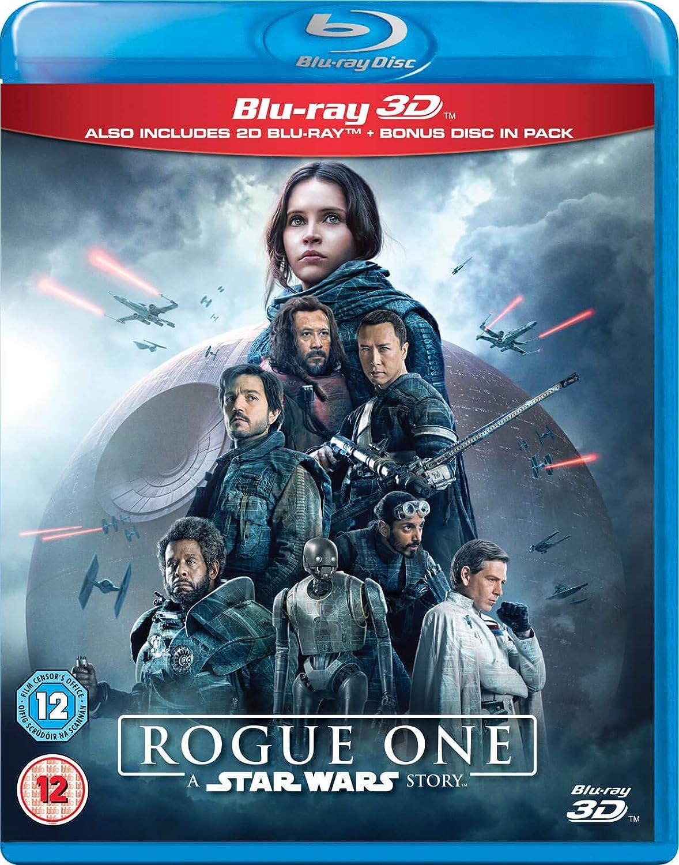 Rogue One 3D [Blu-ray]: Amazon.es: Felicity Jones, Diego Luna, Alan Tudyk, Donnie Yen, Wen Jiang, Ben Mendelsohn, Guy Henry, Forest Whitaker, Riz Ahmed, Mads Mikkelsen, Gareth Edwards: Cine y Series TV