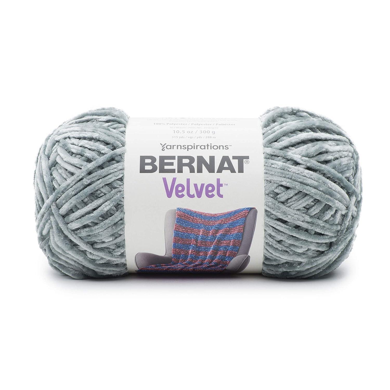 Bernat 16103232007 Blanket Velvet Yarn, Indigo Velvet Spinrite