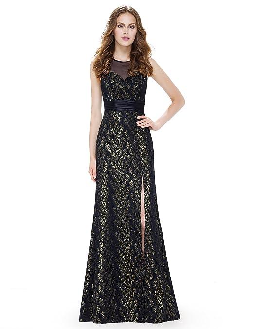 Ever Pretty Womens Elegant Floor Length with Slit Long Evening Dresses 08950: Amazon.co.uk: Clothing