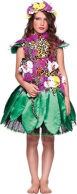 VENEZIANO Disfraz Madre Naturaleza NIA Vestido Fiesta de Carnaval ...