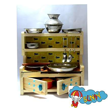 Buy Sunnytoyz Multicolour Stainless Steel Kitchen Set With Fancy