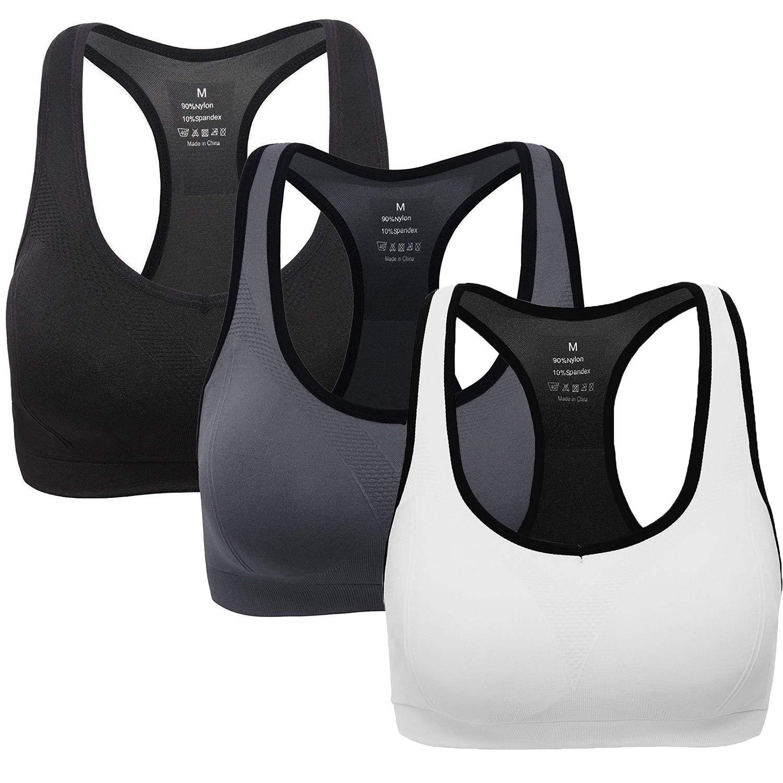 ANGOOL Sujetador Deportivo Almohadillas Extraíbles Yoga Run Bra para Mujer product image