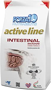 Forza10 Intestinal Active Dry Dog Food, Digestive and Intestinal Support Diet Dry Dog Food for Adult, Medium, Small and Mini Dog Breeds