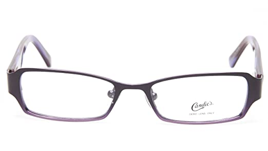 Amazon.com: NEW Candie\'s C SILVIA PL PLUM FEMALE EYEGLASSES GLASSES ...