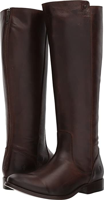 b2508fc4276 Amazon.com  FRYE Womens Melissa Stud Back Zip Wide Calf  Shoes