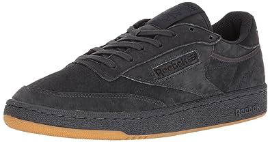 573b078b8ff Reebok Mens Club C 85 Tg Grey Size  6.5 D(M) US  Amazon.co.uk  Shoes ...