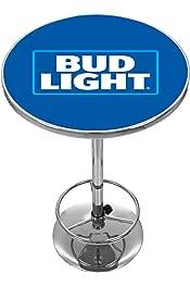 Bud Light Chrome Pub Table