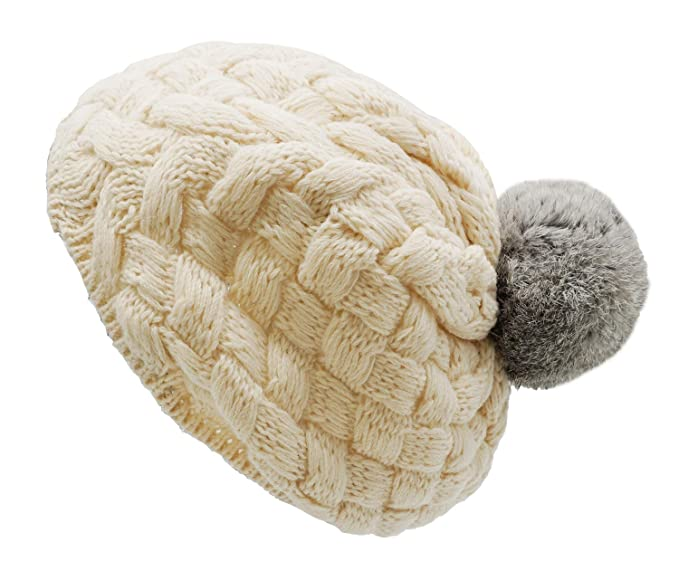 Apparel Accessories Energetic New Fashion Child Kids Winter Knitted Woolen Hats For Girls Toddler Warm Hat Crochet Ski Cap Wool Knit Beanies Bobble Hat