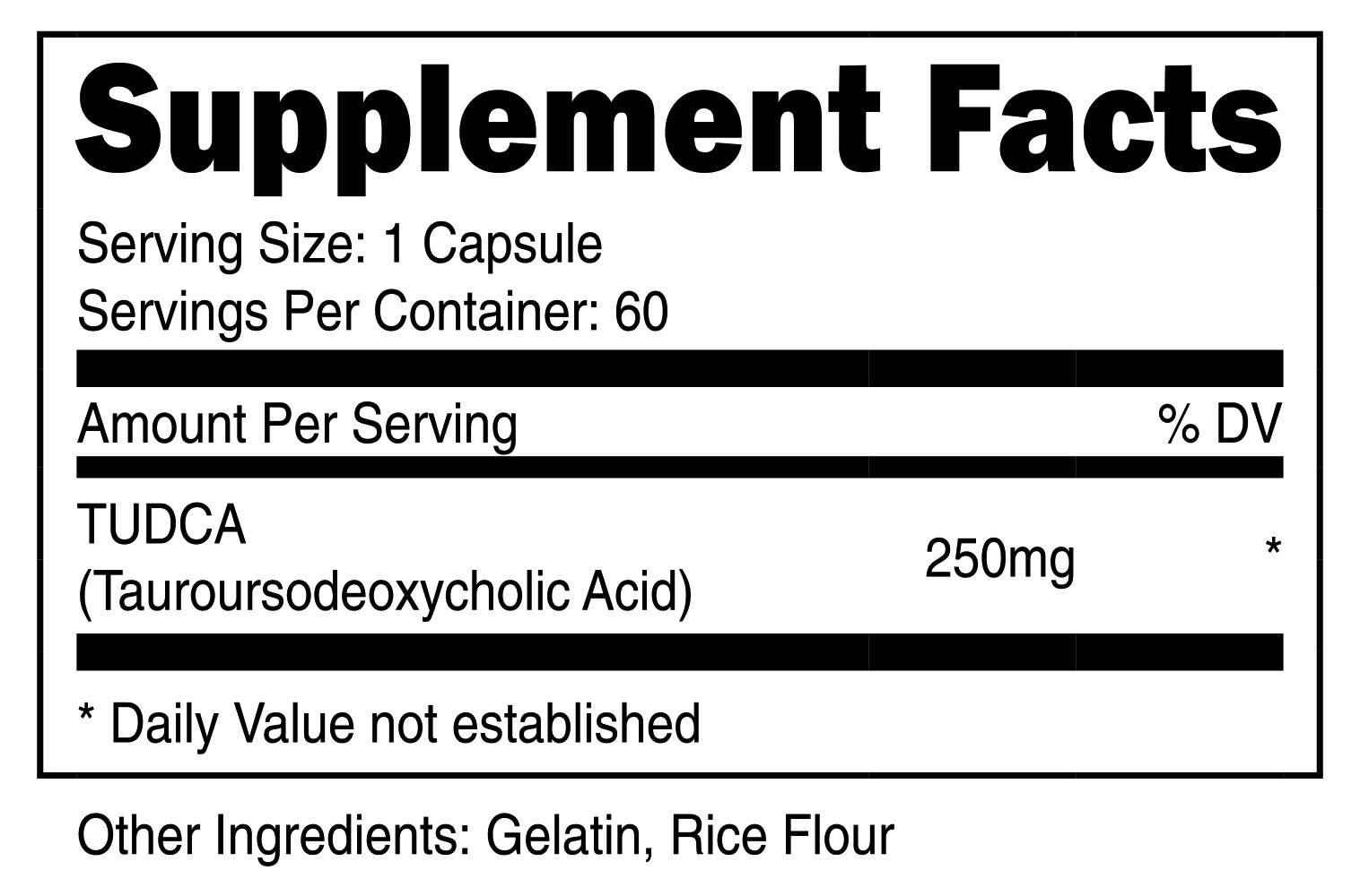 Nutricost Tudca 250mg, 60 Capsules (2 Bottles) by Nutricost (Image #2)