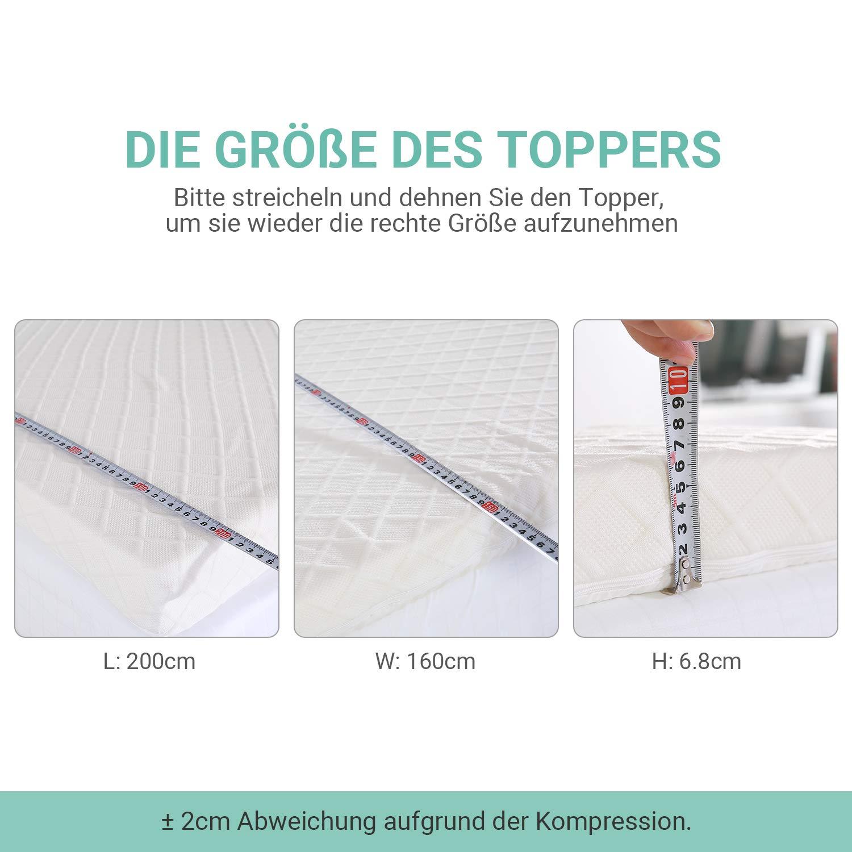 Recci Mattress Topper 90 x 200 cm