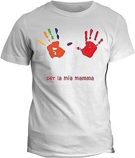 fashwork Tshirt per la mia Mamma - Festa della Mamma - in Cotone by fshY16