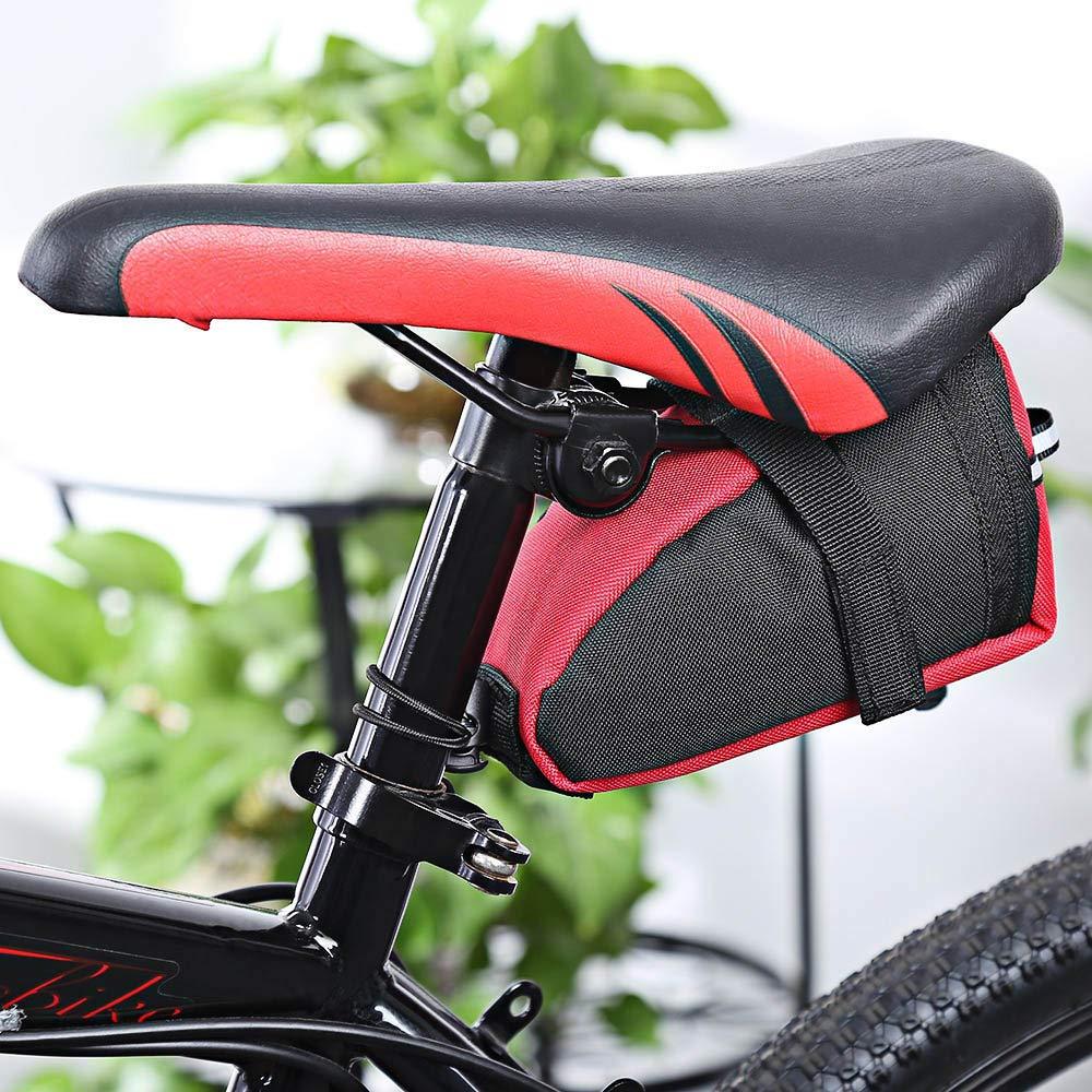 Fahrrad Satteltasche Stoßfest Sitztasche Fahrradtasche Wasserdicht Sattel-Beutel Fahrradzubehör