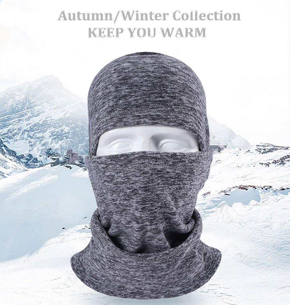Maschera invernale di Balaclava Super Caldo Maschera da sci del motociclo Cationic Maschera invernale Balaclava in pile (Viola) Pioneeryao