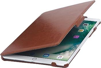 """StilGut UltraSlim Case per iPad Pro 10.5"""" 2017 con funzione supporto e presentazione, Cognac"""