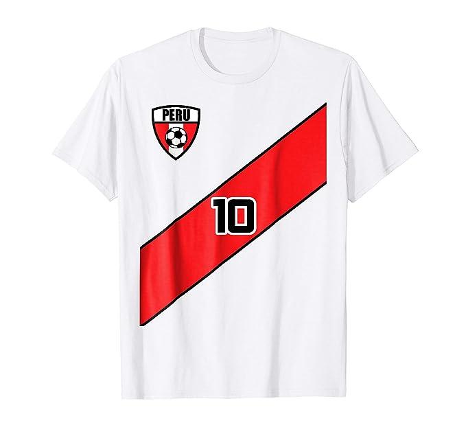 Amazon.com  Peru Soccer Jersey Shirt Peruvian Team Men Women Kids ... 261e5e25a7