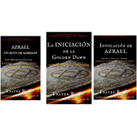 Magia Hermetica Vol 1-3: Azrael: Un Rito de Samhain (MS2) La Iniciacion De La Golden Dawn (MS3) Invocacion De Azrael (Ocultismo Magia  Book 1) (English Edition)