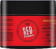 Máscara Revitalizante Red Flowers, Widi Care, Widi Care